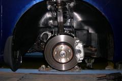 Подкрылок задний правый для Honda Accord '13- (Novline)