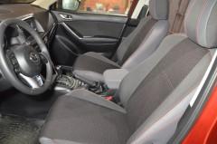 Авточехлы Premium для салона Mazda CX-5 '12-17 красная строчка (MW Brothers)