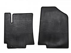 Коврики в салон передние для Hyundai Accent (Solaris) '11-17 резиновые (Stingray)