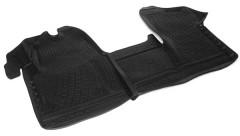 Коврики в салон для Renault Master '11- полиуретановые, черные (L.Locker)