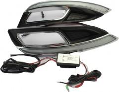 Дневные ходовые огни для Kia Cerato '13- (LED-DRL)