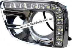 Дневные ходовые огни для Toyota Land Cruiser Prado 150 '10- V3 (LED-DRL)