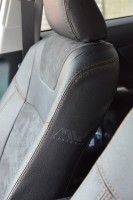 Авточехлы Leather Style для салона Toyota Camry V50 '11-17 (MW Brothers)