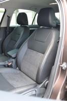 Авточехлы Leather Style для салона Skoda Octavia A7 '13-17, лифтбек с зад. подлокотником (MW Brothers)