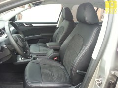 Авточехлы Leather Style для салона Skoda Superb '09-14 Ambition (MW Brothers)