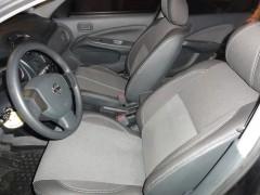 Авточехлы Premium для салона Nissan Almera Classic '06-13 красная строчка с отдельными задними подголовниками (MW Brothers)