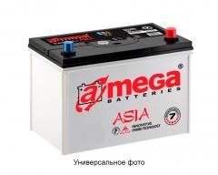 Автомобильный аккумулятор A-MEGA Asia 45Ач, правый плюс