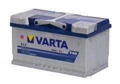 Автомобильный аккумулятор Varta Blue Dynamic (580406074) 80Ач