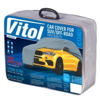 Тент автомобильный для джипа / минивена Vitol Peva+PP Cotton XL (JC13401)