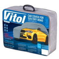 Фото товара 1 - Тент автомобильный для джипа / минивена Vitol Peva+PP Cotton XXL (JC13401)