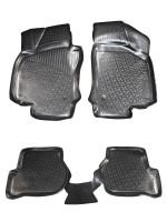 Коврики в салон для Volkswagen Jetta V '06-10 полиуретановые (L.Locker)