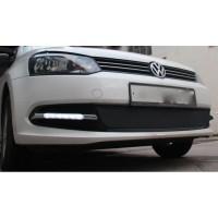 Дневные ходовые огни для Volkswagen Polo '12- Sedan (LED-DRL)