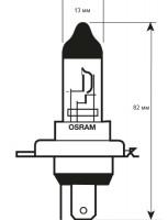 Фото 2 - Автомобильная лампочка Osram Night Breaker Unlimited H4 12V (комплект: 2шт)