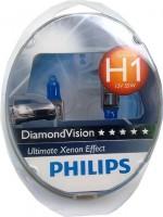 Автомобильная лампочка Philips DiamondVision H1 12V 55W (комплект: 2шт.)