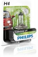 Автомобильная лампочка Philips LongLife EcoVision H4 12V 60/55W, 12342LLECOB1
