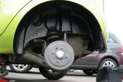 Фото 3 - Подкрылок задний левый для Chevrolet Spark '11- (Novline)