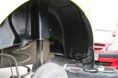 Фото 4 - Подкрылок задний левый для Chevrolet Spark '11- (Novline)