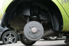 Подкрылок задний правый для Chevrolet Spark '11- (Novline)