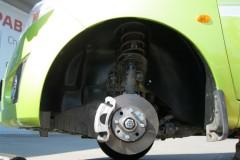 Подкрылок передний левый для Chevrolet Spark '11- (Novline)