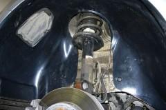 Подкрылок задний правый для Mitsubishi Colt '03-09 (Novline)