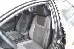 Авточехлы Leather Style для салона Toyota Corolla '13- без заднего подлокотника (MW Brothers)
