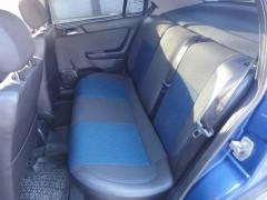Фото 3 - Авточехлы Premium для салона Opel Astra G '98-10 синяя строчка (MW Brothers)
