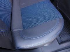 Фото 4 - Авточехлы Premium для салона Opel Astra G '98-10 синяя строчка (MW Brothers)
