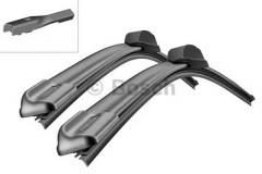 Щётки стеклоочистителя бескаркасные Bosch AeroTwin 600 и 400 мм. PushButton 16мм. (к-кт) A 555 S