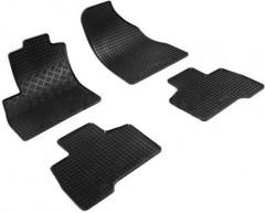 Коврики в салон для Peugeot Bipper '08- резиновые, черные (Rigum)