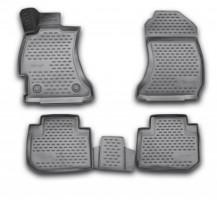 Коврики в салон для Subaru Forester '13-18 полиуретановые (Novline / Element) 3D