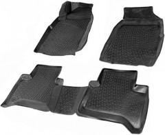 Коврики в салон для Chevrolet Trail Blazer '12- полиуретановые, черные (L.Locker)