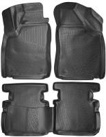 Коврики в салон для MG 5 HB '13- полиуретановые, черные (L.Locker)