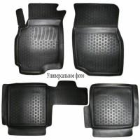 Коврики в салон для Opel Mokka '12- полиуретановые, черные (L.Locker)