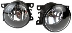 Противотуманные фары для Citroen C-Crosser 2007-2012 комплект (Sirius)