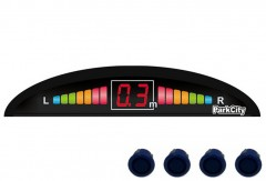 Парктроник Parkcity Riga 18мм с датчиками темно-голубого цвета (4 датчика)