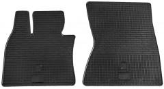 Коврики в салон передние для BMW X6 E71 '08-  резиновые (Stingray)