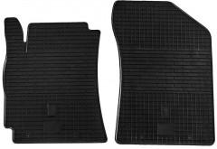 Коврики в салон передние для Geely MK Sedan '06-14 резиновые (Stingray)