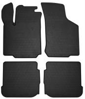 Коврики автомобильные резиновые для Volkswagen Bora '99-05 (Stingray)
