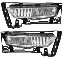 Противотуманные фары для Honda Accord '13- комплект (Dlaa)