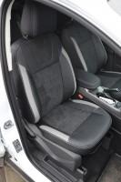 Авточехлы Leather Style для салона Ford Kuga '13- (MW Brothers)