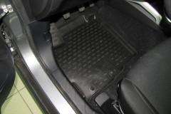 Коврики в салон для Mitsubishi ASX '10- полиуретановые, черные (Novline / Element)