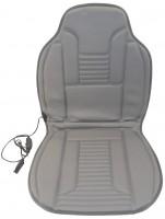 Накидка на сиденье с подогревом Elegant 12v c регулятором нагрева, серая 100577