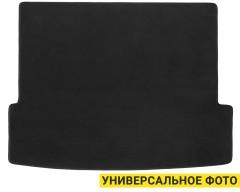 Коврик в багажник для Mazda 6 '02-08 седан, текстильные, черные (Optimal)