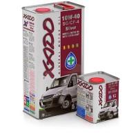 XADO Atomic Oil 10W-40 SG/CF-4 Silver, (ж/б  1 л) квадр.