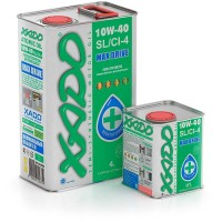 XADO Atomic Oil 10W-40 SL/CI-4, (ж/б 4 л)