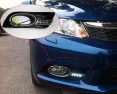 Дневные ходовые огни для Honda Civic HB '12- (LED-DRL)