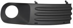 Решетка в бампер для Volkswagen Transporter T5 '03-09 правая, серая