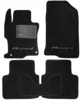 Коврики в салон для Honda Accord 8 '08- USA текстильные, черные (Люкс) 2 дв. купе