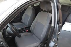 MW Brothers Авточехлы Premium для салона Audi A4 '05-08 серая строчка (MW Brothers)