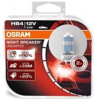 Автомобильная лампочка Osram Night Breaker Unlimited HB4 12V (комплект: 2 шт)